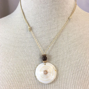 Jewelry - Shell Swirl Necklace